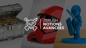 Couverture de la formation ZBrush - Notions avancées par Nicolas Delille