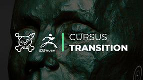 la bannière de la formation zbrush pour les sculpteurs : le Cursus Transition