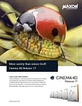 Maxon cinema 4D r17 advertising