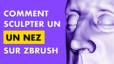 """Couverture de l'article sur """"Comment sculpter un nez sur zbrush"""""""